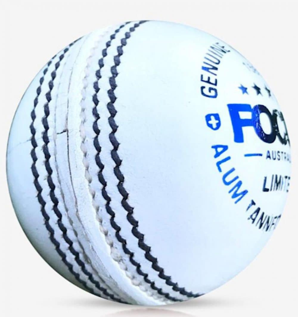 Focus Limited White Cricket Ball