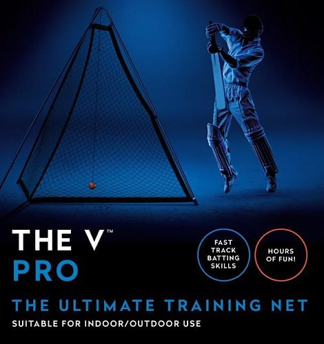The V Pro Cricket Training Net