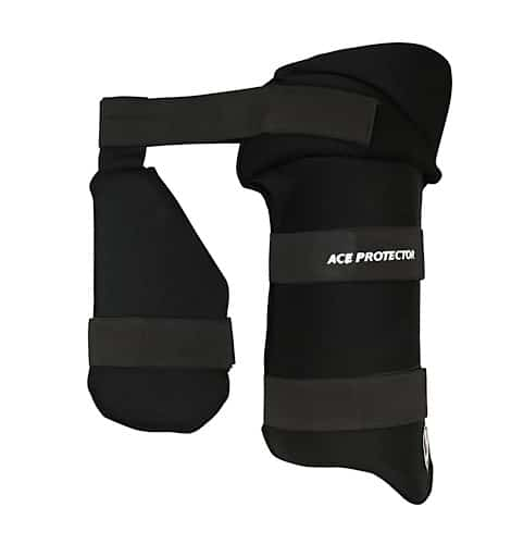 SG Ace Protector Black Thigh Guard
